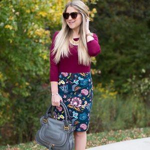 *NWT* Ann Taylor Loft Garden Pencil Skirt